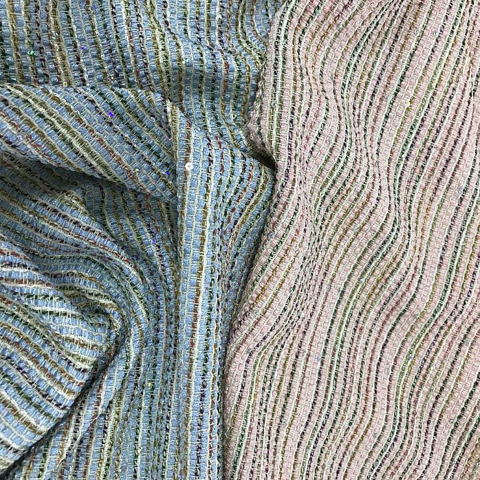 Твидовые ткани. Коллекция 2017