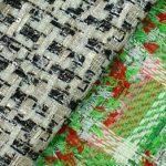 Новая коллекция твидовых тканей